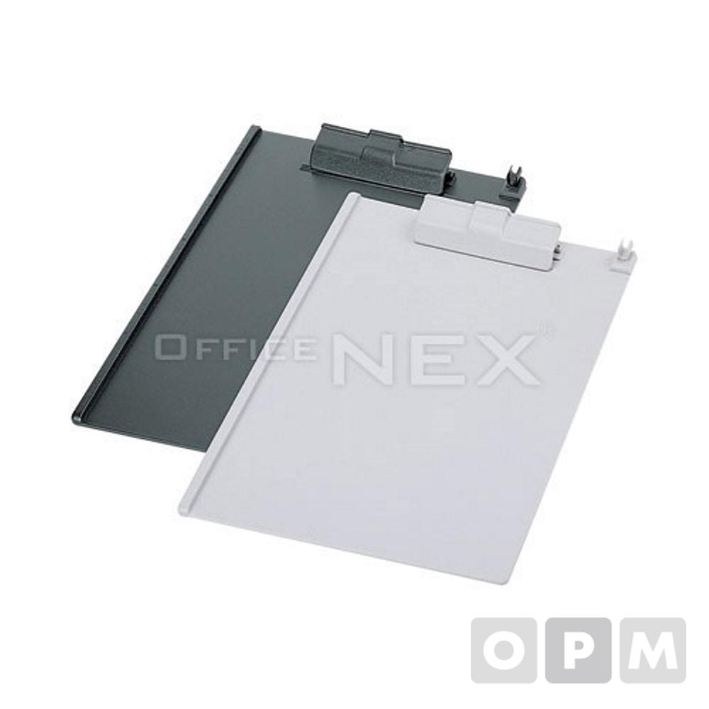 카파맥스 크립보드(A4/회색) / A4, 230x320mm, 상철, 레버장식 회색