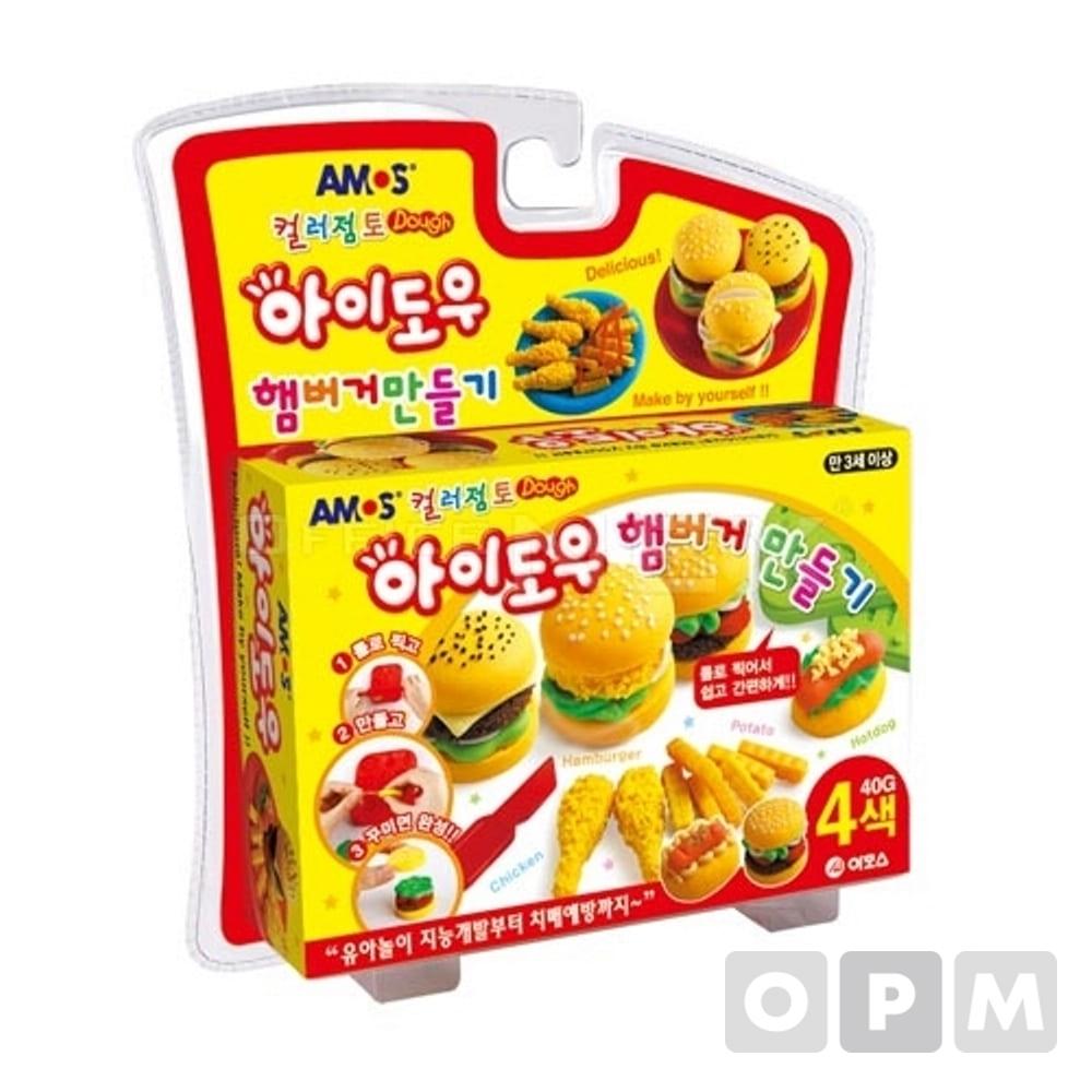 아모스 아이도우(햄버거/40g*4p)
