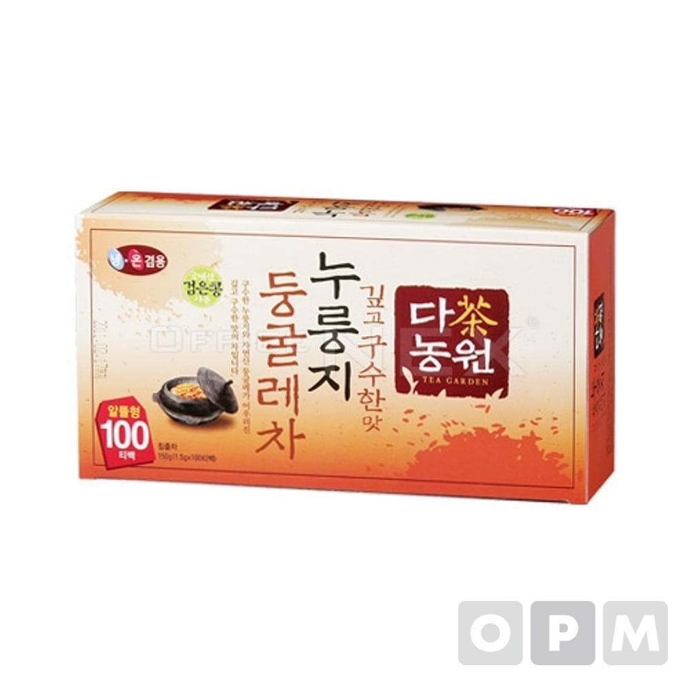 다농원 누룽지둥굴레차(1.5g*100T)
