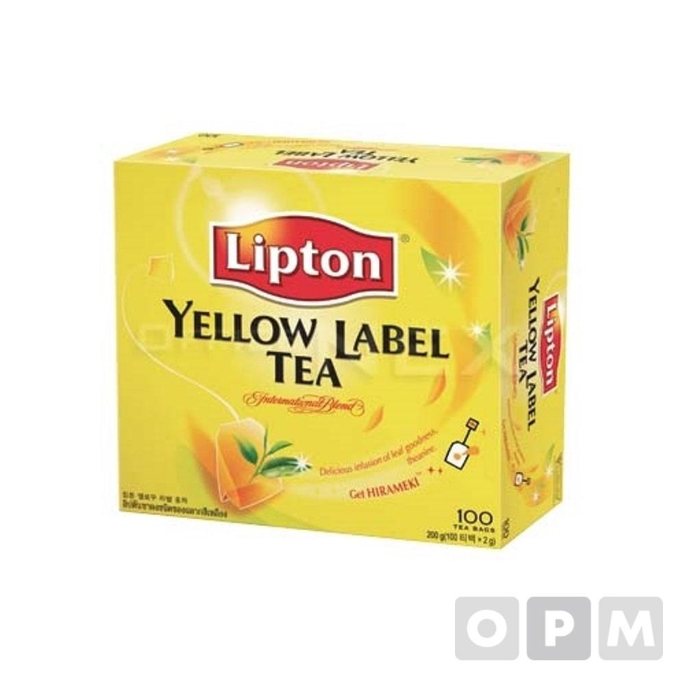 립톤 옐로우 라벨 홍차(2.26g×100T)