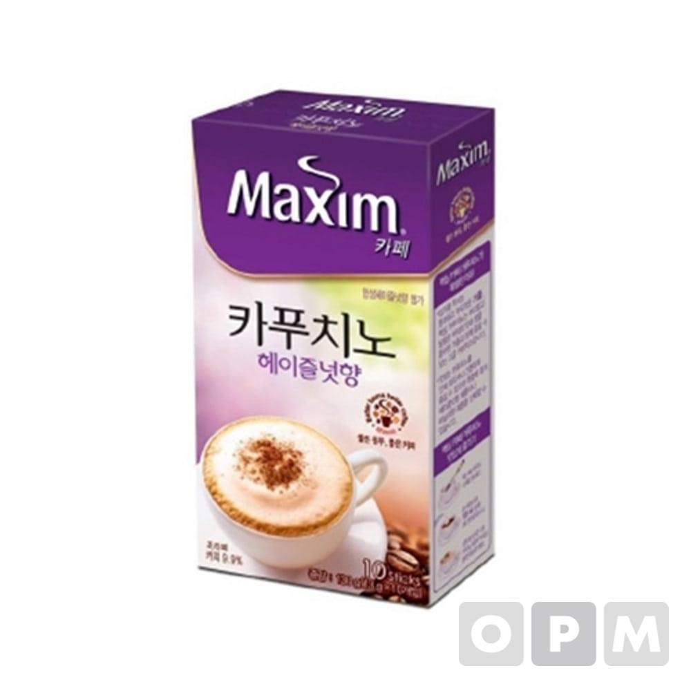 맥심 카페카푸치노헤즐넛향(13gx10T/동서식품)