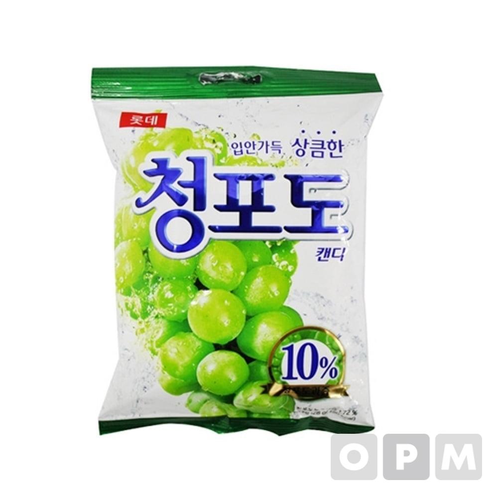 롯데 청포도 사탕(153g)