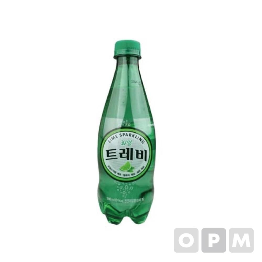 롯데 트레비라임 탄산수 500ml