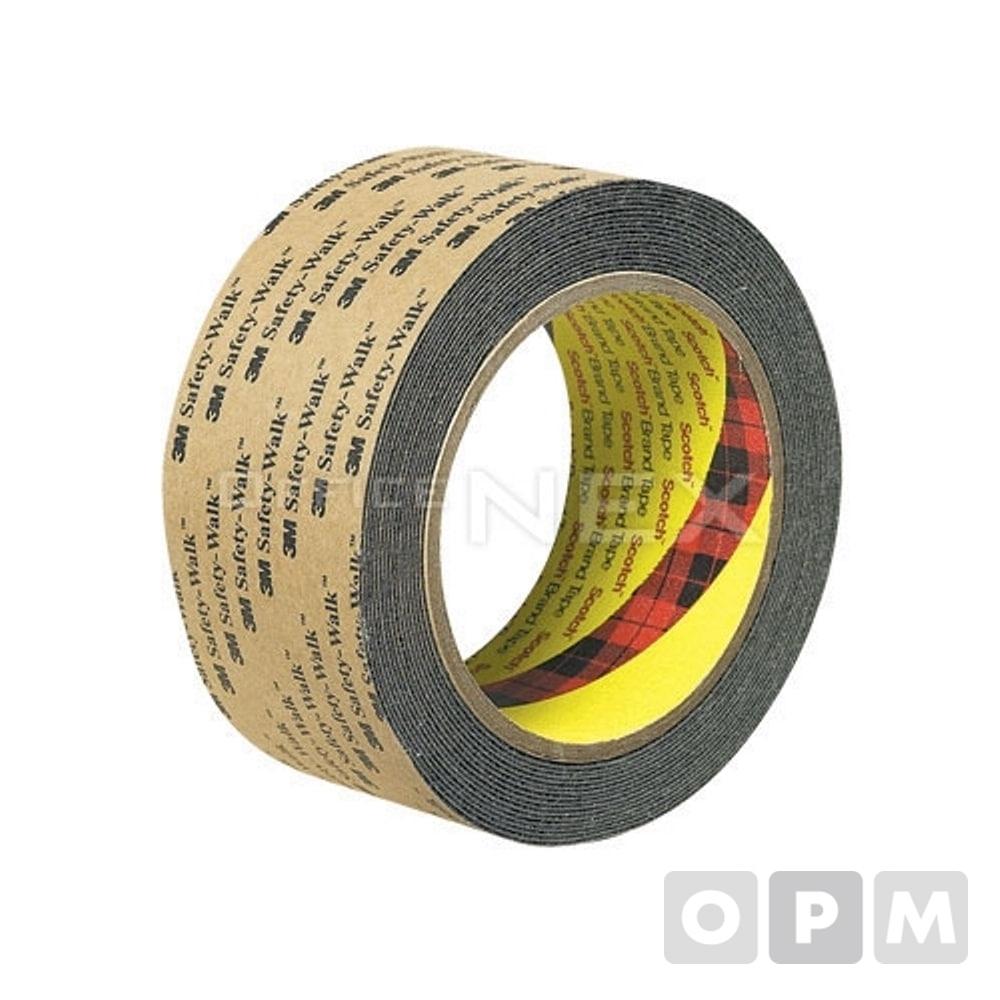 3M 미끄럼방지테이프(일반용/대/50mmX18m 흑색)