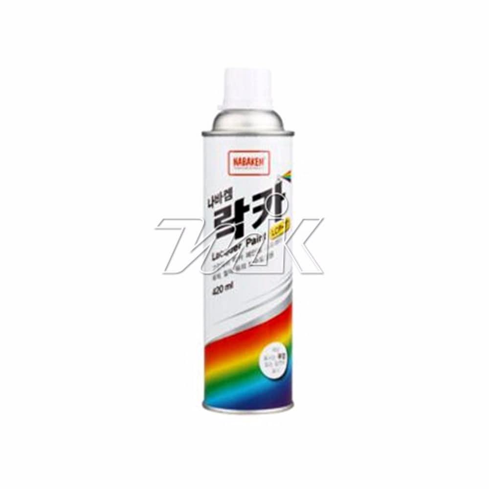 락카스프레이(일신-420ML)청색