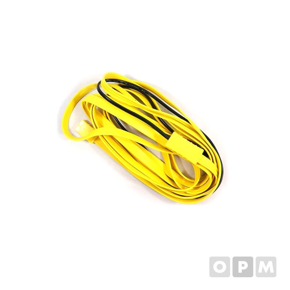 동파방지열선 노란 실리콘열선 2M