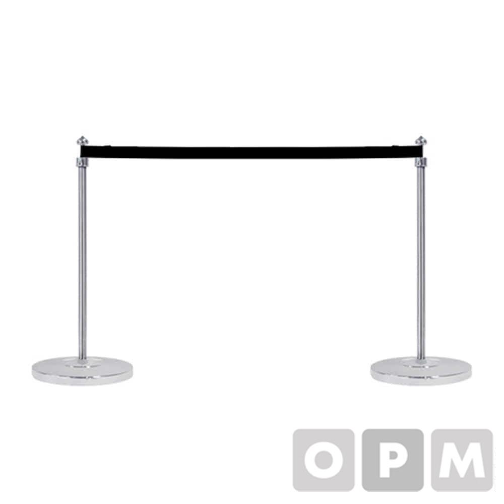 옴니팩 미니 차단봉 1SET 블랙 벨트 1.5M