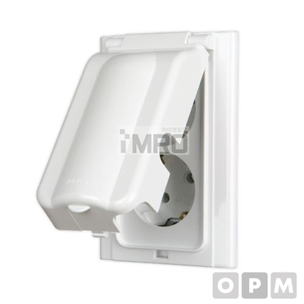 진흥전기 FS 방우형1구 접지콘센트(세로형)