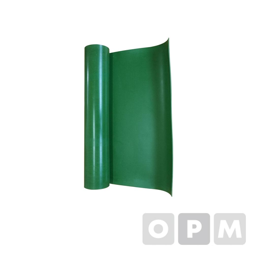 녹색고무판(1롤) 1200mmX15MX2.4t