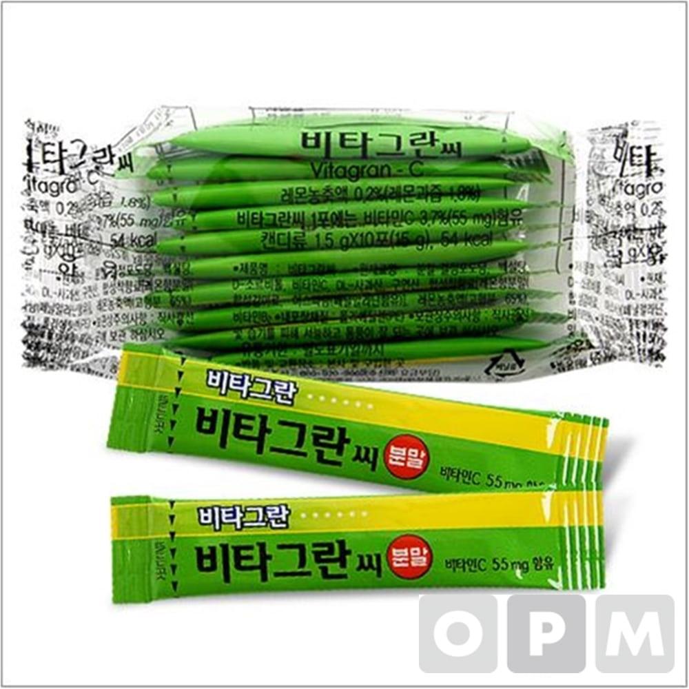 건강기능식품 ( 동아/비타그란씨 10포 분말/스틱형 ) 주문단위 50개