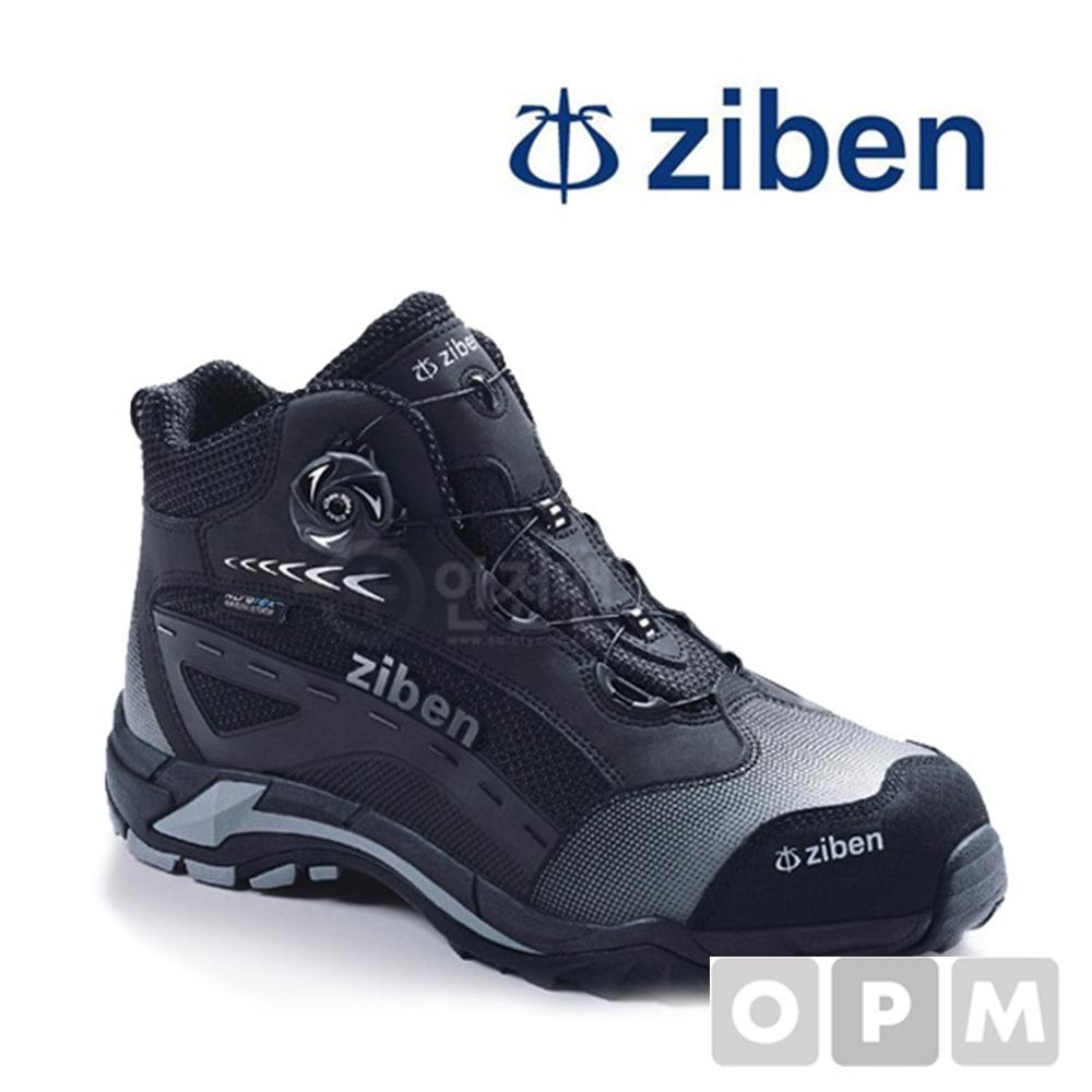 ZIBEN 지벤안전화 ZB-174(방수) BLACK / 사이즈 265mm